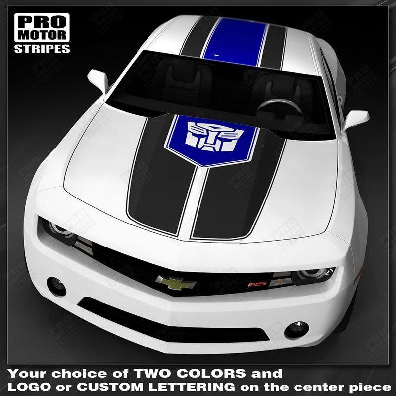 2010 2011 2012 2013 2014 2015 Chevrolet Camaro hood  trunk  roof Decals Stripes 152588443117-1
