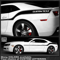 2010 2011 2012 2013 2014 2015 Chevrolet Camaro side  door Decals Stripes 132229428746-1
