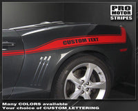 2010 2011 2012 2013 2014 2015 Chevrolet Camaro side  door Decals Stripes 132229428751-1