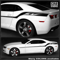 2010 2011 2012 2013 2014 2015 Chevrolet Camaro hood  side  trunk  door Decals Stripes 132229419834-3