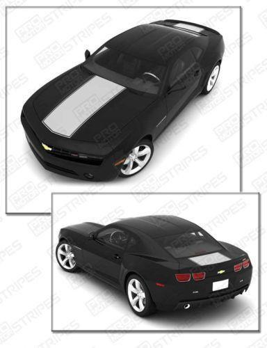 2010 2011 2012 2013 2014 2015 Chevrolet Camaro hood  trunk Decals Stripes 122584627687-1