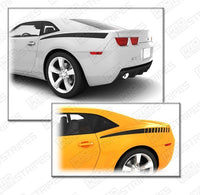 2010 2011 2012 2013 2014 2015 Chevrolet Camaro side Decals Stripes 122585032132-1