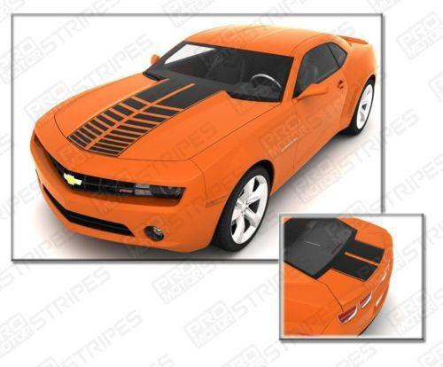 2010 2011 2012 2013 2014 2015 Chevrolet Camaro hood  trunk Decals Stripes 122551586627-1