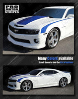 2010 2011 2012 2013 2014 2015 Chevrolet Camaro hood  side  trunk  door Decals Stripes 152612965442-2