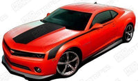 2010 2011 2012 2013 2014 2015 Chevrolet Camaro hood  side  trunk  door Decals Stripes 152612965442-1