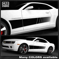 Chevrolet Camaro 2010-2019 Wide Panel Strobe Side Stripes