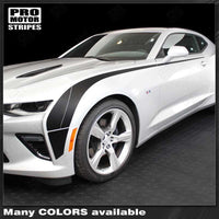 Chevrolet Camaro 2016-2018 Extended Hockey Side Accent Stripes