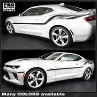 Chevrolet Camaro 2010-2018 Fire Wings Style Side Stripes