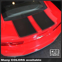 Chevrolet Camaro 2016-2018 Front & Rear Checkered Stripes Auto Decals - Pro Motor Stripes