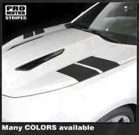 Chevrolet Camaro 2016-2019 Hood Hash Side Accent Stripes