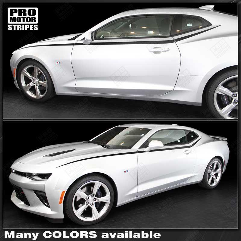 Chevrolet Camaro 2016 2019 Javelin Top Side Accent Stripes