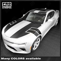 Chevrolet Camaro 2016-2018 NS1 Style Top Stripes Complete Set