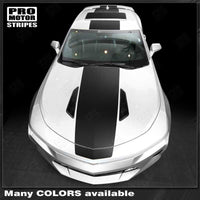 Chevrolet Camaro 2016-2018 Over The Top Stripes Hood, Roof & Rear