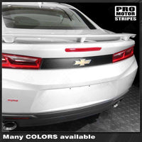 Chevrolet Camaro 2016-2018 Rear Deck Blackout Accent Decal