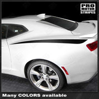Chevrolet Camaro 2010-2018 Rear Quarter Side Accent Decal Stripes