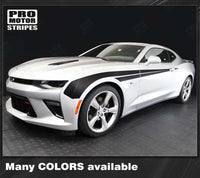 Chevrolet Camaro 2016-2018 Side Fender Accent Stripes Auto Decals - Pro Motor Stripes