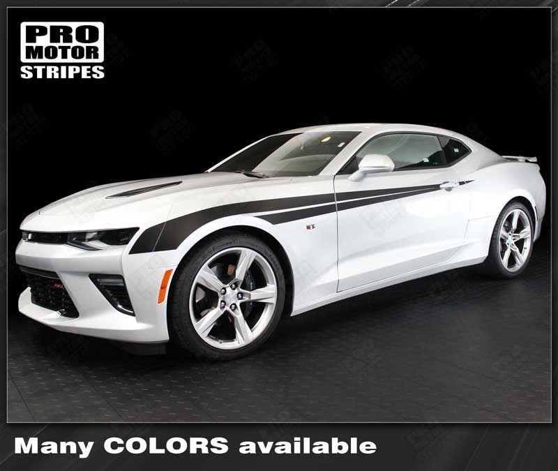 Chevrolet Camaro 2016 2019 Side Fender Accent Stripes 152802473909