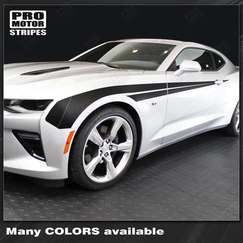 2016 2017 2018 2019 Chevrolet Camaro side  door Decals Stripes 122819827921-1