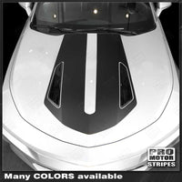 2016 2017 2018 Chevrolet Camaro hood Decals Stripes 132426889365-1