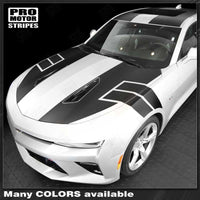 2016 2017 2018 Chevrolet Camaro hood  side  trunk  roof Decals Stripes 132406131414-1