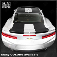 2016 2017 2018 Chevrolet Camaro hood  trunk  roof Decals Stripes 122819848004-2