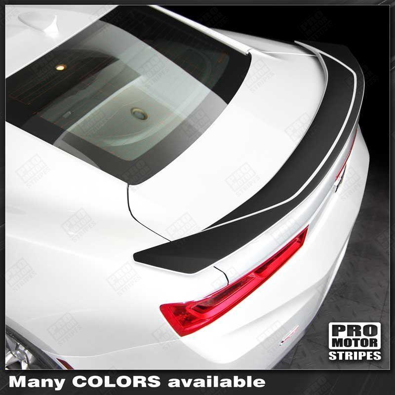 2016 2017 2018 Chevrolet Camaro spoiler Decals Stripes 132407288078-1
