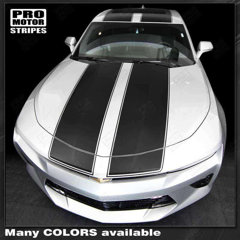 2016 2017 2018 Chevrolet Camaro hood  trunk  roof Decals Stripes 152805218665-1
