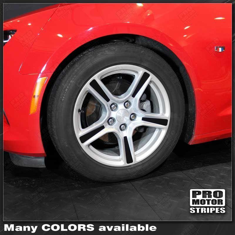 2016 2017 2018 Chevrolet Camaro wheel Decals Stripes 132423227164-1