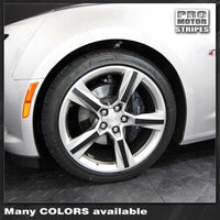 "Chevrolet Camaro 2016-2021 Wheel Spokes Decals For 20"" Stock Rims"