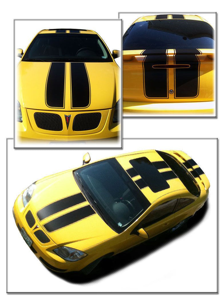 Chevrolet Cobalt hood  trunk  roof Decals Stripes 152588449517-1