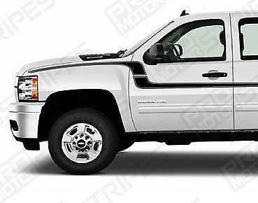 Chevrolet Silverado side  door Decals Stripes 132229428657-1