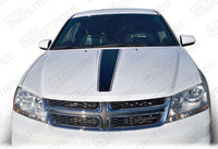 2008 2009 2010 2011 2012 2013 2014 Dodge Avenger hood Decals Stripes 152620457010-1