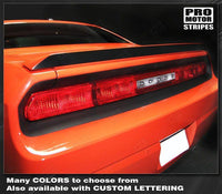 2008 2009 2010 2011 2012 2013 2014 Dodge Challenger spoiler Decals Stripes 152594891107-1