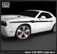 Dodge Challenger 2008-2019 Accent Side Stripes