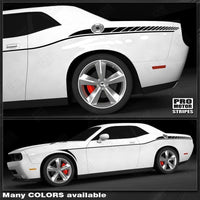 2008 2009 2010 2011 2012 2013 2014 2015 2016 2017 2018 2019 Dodge Challenger side  door Decals Stripes 152588453874-1