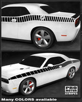 Dodge Challenger 2008-2019 CUDA Full Strobe Side Stripes