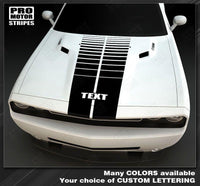 2008 2009 2010 2011 2012 2013 2014 2015 2016 2017 2018 2019 Dodge Challenger hood Decals Stripes 152588454813-1