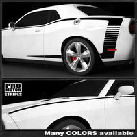 2008 2009 2010 2011 2012 2013 2014 2015 2016 2017 2018 2019 Dodge Challenger side  door Decals Stripes 132229426719-1