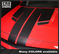 2008 2009 2010 2011 2012 2013 2014 2015 2016 2017 2018 2019 Dodge Challenger hood Decals Stripes 122629120200-1