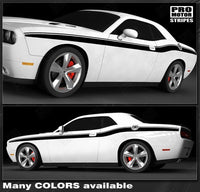 2008 2009 2010 2011 2012 2013 2014 2015 2016 2017 2018 2019 Dodge Challenger side  door Decals Stripes 122551586583-1
