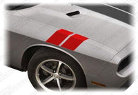 Dodge Challenger 2008-2019 Le Mans Fender Hash Stripes