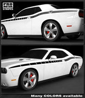 Dodge Challenger 2008-2019 Narrow CUDA Side Strobe Stripes