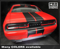 2008 2009 2010 2011 2012 2013 2014 2015 2016 2017 2018 2019 Dodge Challenger hood  trunk  bumper  roof Decals Stripes 132229419812-2