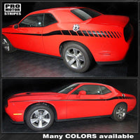2008 2009 2010 2011 2012 2013 2014 2015 2016 2017 2018 2019 Dodge Challenger side  door Decals Stripes 152588451864-1