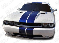 Dodge Challenger 2008-2019 Rally Double Center Stripes