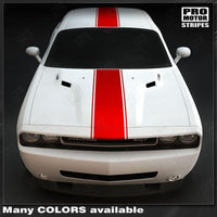 2008 2009 2010 2011 2012 2013 2014 2015 2016 2017 2018 2019 Dodge Challenger hood  trunk  roof Decals Stripes 132229426707-1
