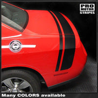 Dodge Challenger 2008-2018 Scat Pack Style Rear Stripes Auto Decals - Pro Motor Stripes