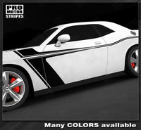 2008 2009 2010 2011 2012 2013 2014 2015 2016 2017 2018 2019 Dodge Challenger side  door Decals Stripes 132229425367-1