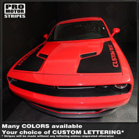 Dodge Challenger 2008-2019 Side Panel Hood Accent Stripes