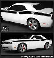 Dodge Challenger 2008-2019 Solid CUDA Side Stripes